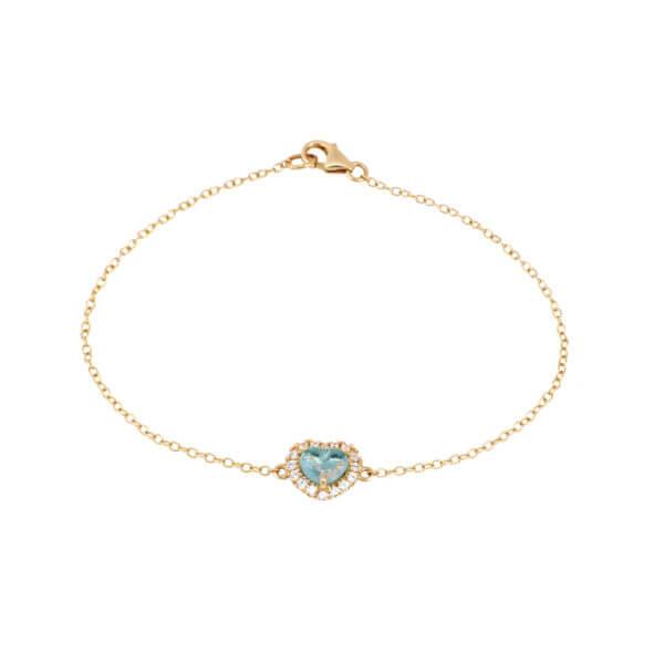 18K曉愛鑽石手鍊