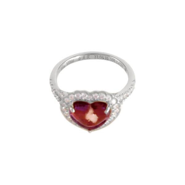 18K鍾愛鑽石戒指