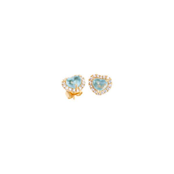 18K 曉愛鑽石耳環
