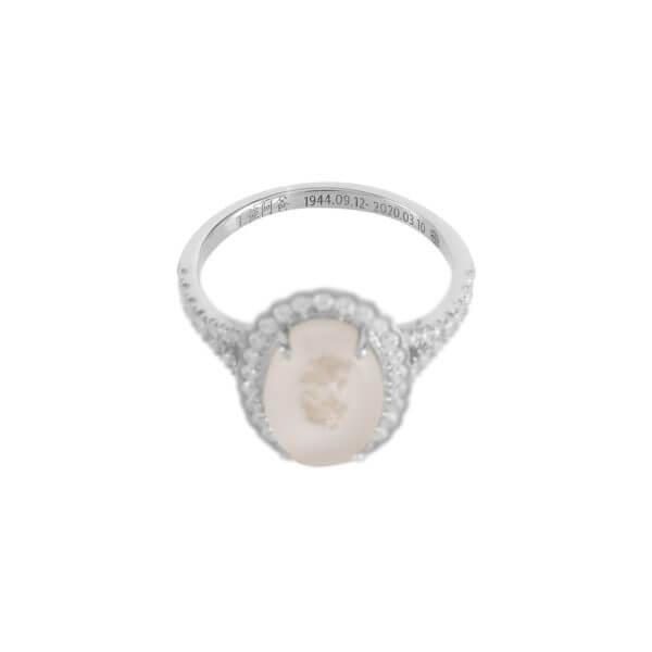 18K 橢圓鑽石戒指05