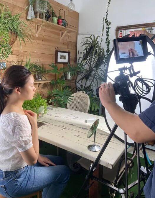 品牌介紹短片拍攝過程